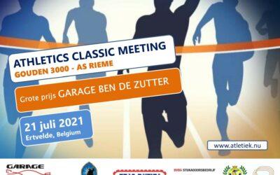 21 juli 2021: Athletics Classic Meeting – Gouden 3000