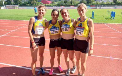 Belgische titel voor masters dames 4x800m